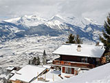 Panorama-Chalet CNY01 bei Sion im Wallis CH